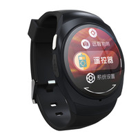 New 1.22inch round smartwatch can remote control electric appliance , andriod smart watch phone for IOS and Android phone