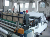 HX-1575B single embossing rewinding,perforating toilet paper production line