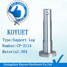Factory direct selling wholesale toilet cubicle partition material precision casting adjustable leg