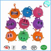 China factory wholesale 5 inch colorful hair puffer ball toy