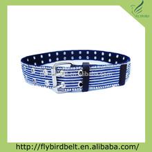 old navy azul de mujer blanco trenzado cinturón de cuero con consejos