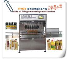Corn Oil Filling Line, Filling Machine for Various Machinery Oil, 8 Heads 5000ML Salad Oil Filling Machine