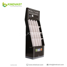 Retail Recycle Cardboard Paper Mobile Accessories Display Stand