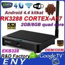 New! Android 4.4 Kitkat XBMC Bluetooth Dual Band WIFI EKB328 quad core 4k rk3288 smart tv box android iptv box xbmc box