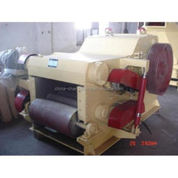CS 2015 CE hot sale wood chipper with hammer mill to make wood logs into wood sawdust