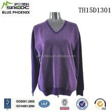 BLUE PHOENIX v neck 100% cashmere men sweater