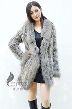 Cx-g-a-148b de piel de conejo de punto de venta al por mayor de ropa de damas