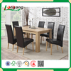 2014 High end wood Executive office table and chairs