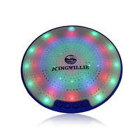 Kingwon 2015 wireless dish shape mini bluetooth protable usb sd card cara membuat speaker aktif mi