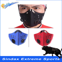 Outdoor sports Ski Bicycle Cycling Motorcycle MTB Bike Face Mask Cover Antipollution Dustproof with filter