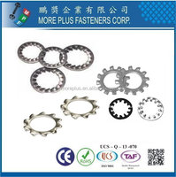 Taiwan Stainless Steel External Internal Tooth Shakeproof Washers