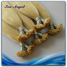 Wholesale Price High Quality Pre Bonded Flat Tip Hair