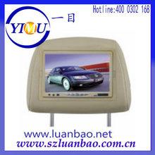7 Inch high definition Touch screen Car Headrest Monitor