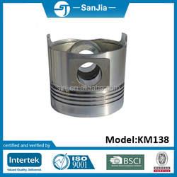 Magnetic small electric pistons for tractor rear grader blade