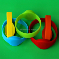 Colorful Waterproof RFID Bracelet for Access Control
