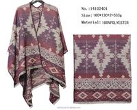 jacquard pashmina geometry pattern shawl fashion cardigans women 2016 winter wraps