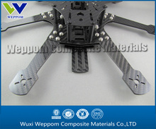 Quadcopter frame, CNC for hobby application