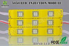 Smd5050*3 a base di ferro tensione costante 120 gradi condotto segno retroilluminazione modulo per la segnaletica