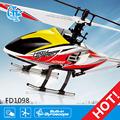 z101 fd1098 sola hoja del motor servo rc helicóptero fantasma