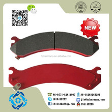 Auto parts Brake Pad Front D784/Rear D785 for AM GENERAL Hummer H2