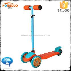 Folding pro kick scooter with aluminum T-bar