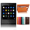 New Crocodile Leather back cover for BlackBerry Passport Q30 case with card slot Mobile Phone Accessories