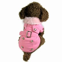 free shipping dog small winter coat