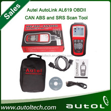 [Authorized Autel Distributor] 2015 New Arrival Autel AutoLink AL619 OBDII CAN ABS and SRS Scan Tool DHL Fast Shipping
