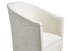 fabric tub chair/wooden frame tub chair/single sofa chair