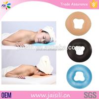 Onlin Wholesale Comfortable Spa Massage Facial Face Cushion Silicone Gel Pillow