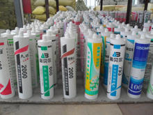 silicone sealant used for window and door with glass