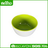 Wholesale cream double color cheap melamine small bowl, small salad bowl