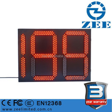 3 Year Warranty LED Countdown Traffic Light, 2 and half Digits 3 Colors Traffic Light Timing