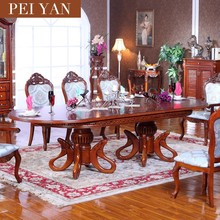 Dining room furniture,extendable table,solid wood dining table