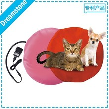 Pet products round comfy self warming pet bed electric heated pad for dog and cat