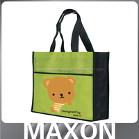 China factory high quality purple shopping bag for store