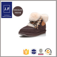 fashion half waterproof snow boots women winter boots factory