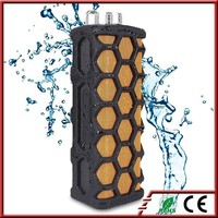 Rechargeable Outdoor Sports Waterproof Shockproof Portable Wireless Bluetooth Speaker with hands free call