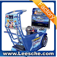 LSRM-004 Simulator Arcade 2 player car racing game seat machine download console for game center rb