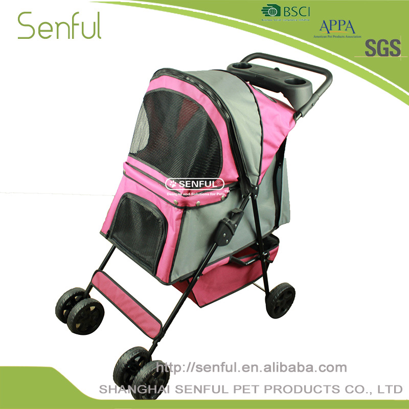 Chine fournisseur Portable Pliable ibiyaya animal poussette