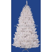 8 Foot General Tree White Christmas Tree, Pointed End Xmas Tree, White Overstock