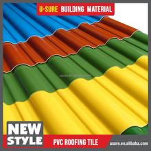 Hot sale laminate sheet pvc roofing sheet