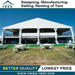 Arabic style white party tent produced in Guangzhou Carpa , most beautiful party tent