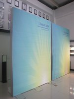 Edgelight 2 years warranty China Wholesale inside double sides fabric light box High Quality CE UL Rohs