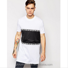 Super elongated longline t shirt with wholesale price