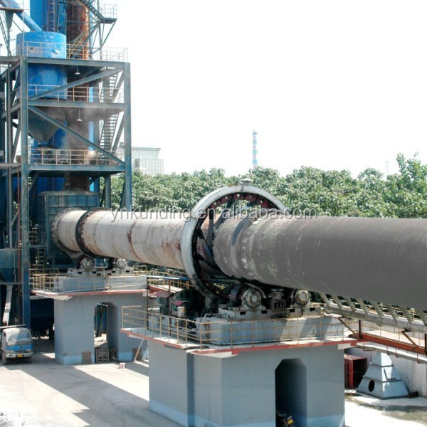 Cement Plant Kiln : Kun ding cement plant rotary kiln mineral calciner buy