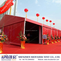 2015 outdoor white beautiful wedding tent with decoration