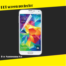 Popular Ultra clear S5 HD clear screen protector Galaxy S5 clear screen protector for Samusng S5 screen protector