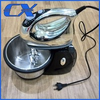 Hot Selling Powerful Kitchen Stand Mixer With Rotating Stainless Steel Bowl