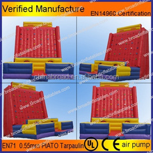 2015 Hot Sale inflatable rock climbing wall,inflatable climbing wall,inflatable climbing mountain